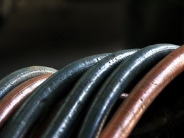 A simple black garden hose is essential in making a solar pond heater.