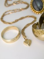 Typically, gold chains are marked with their karat purity.