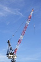 Depreciation lets companies account slowly for large, expensive assets, like the purchase of a large crane that can be used for many years.