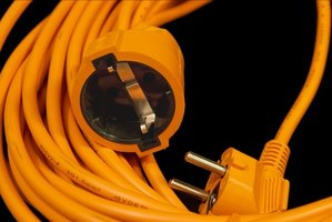 Extension cords come in a variety of sizes.