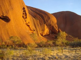 The Red Rocks of the Outback