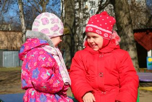 Kids can get to be good friends in kindergarten, but they'll need some time to warm up.