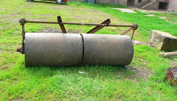 how to make a lawn roller