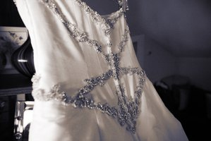A wedding dress is an ideal donation for a bride-to-be.