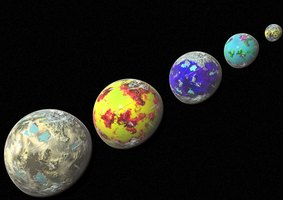 Hang foam planets from your ceiling as decorations for your cosmic outer space party.