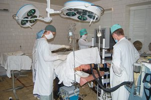 Draping creates a sterile field for surgery.