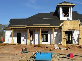 Adding Tyvek wrap is an important energy-saving step in exterior remodeling.