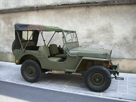 Willys-Overland was also well known for its production of military Jeep vehicles.