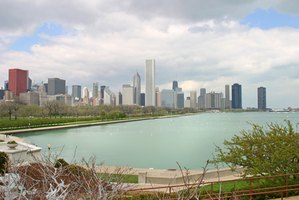 Chicago is a big city with many neighborhoods.