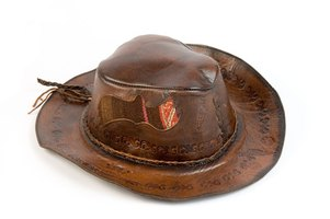 Customize your cowboy hat with a personalized hat band.