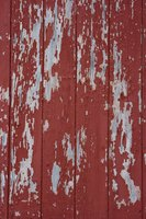 Old barn wood comes pre-distressed for rustic projects.