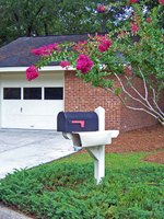 A mailbox post can be painted any color.