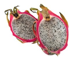 Dragon fruit flesh can be white, red or magenta.