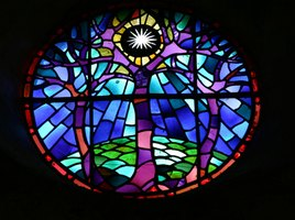 Working with stained glass can carry the risk of lead poisoning.
