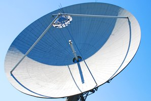 Uplink to SWM Satellite Dish