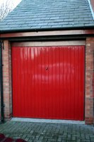 A fresh coat of paint improves your garage.