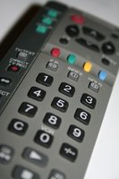 Set up a universal TV remote control to use.