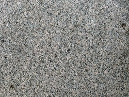 A faux granite finish dresses up old laminate countertops.