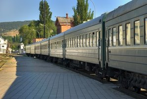 Passenger trains are an ecofriendly alternative mode of transportation.