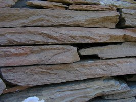 Flagstone is a tough, durable native stone.