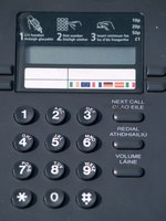 Nortel Meridian telephones typically have an LCD display, which facilitates ease of use.