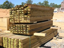 how to build walls in a basement using pressure treated lumber ehow