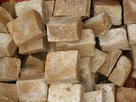 Make your own exfoliating soap with natural ingredients.