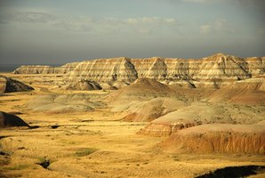 The Badlands of South Dakota can be an interesting spring break destination.