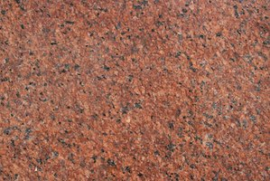 Granite slabs come in lots of colors to fit your decor.