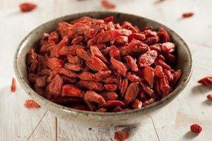 You're likely to find goji berries in dried form in U.S. stores.