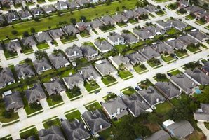 Tax assessors evaluate properties in designated subdivisions.
