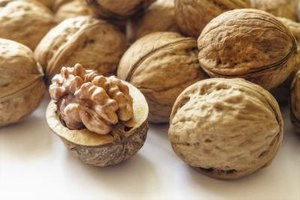 Close-up of walnuts.