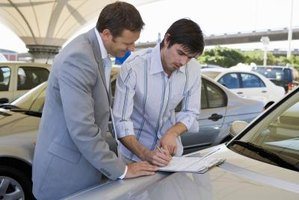 How to Sign a Car Title Transfer