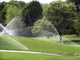 Sprinkler numbers depend on water supply and plantings in a zone.
