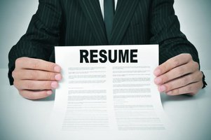 Your strongest qualities relevant to the employer and job go first on your resume.