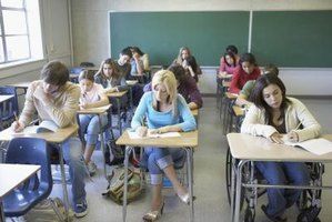 Students in Florida take the FCAT in the spring of their sophomore year.