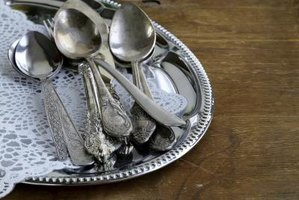 Hand wash silverware and silver serving pieces to keep tarnish at bay.