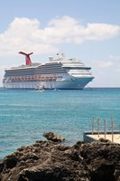 Carnival ships are large enough to accommodate water slides, swimming pools and thousands of staterooms.