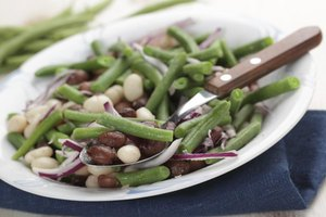 Freshly blanched snap beans add more vivid color and crunch than their canned counterparts.