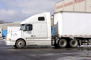 Commercial-use trucks go through a multistage manufacturing process.