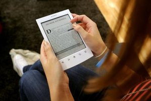 The Kindle connects to the Internet in seconds.