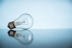 An image of a lightbulb.