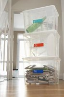 Plastic bins can be modified to make ideal dwarf hamster habitats.