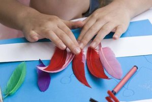 "Kids can make colorful truffula trees to accompany the Dr. Seuss classic, ""The Lorax."""