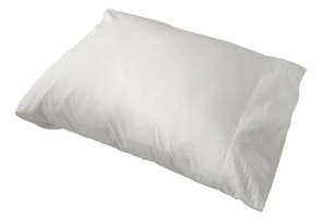 A microgel pillow is an alternative to down filled pillows.
