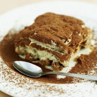 Eggs are not required for a delicious tiramisu.
