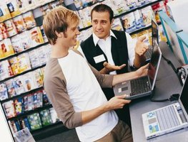 Look for laptop savings locally and on the Web.