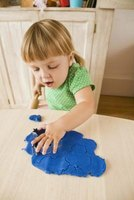Play dough provides a creative, sensory experience good for refining motor skills.