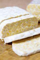 Three ounces of tempeh contain about 37 milligrams of isoflavones.