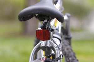 Reflectors on a bike are usually attached to different parts of the bike.